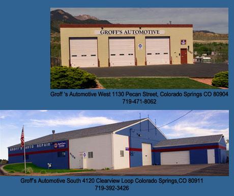 Colorado Springs Auto Parts Groff 39 S Automotive